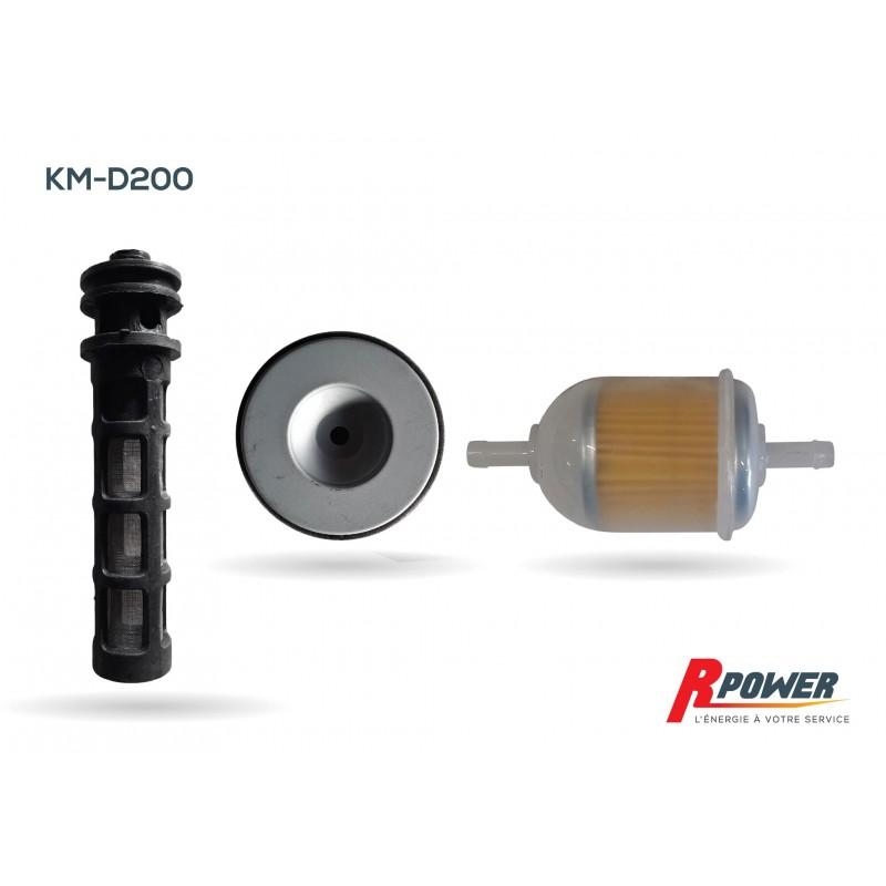 Kit filtres pour moteur diesel ITC Power et Hyundai D200
