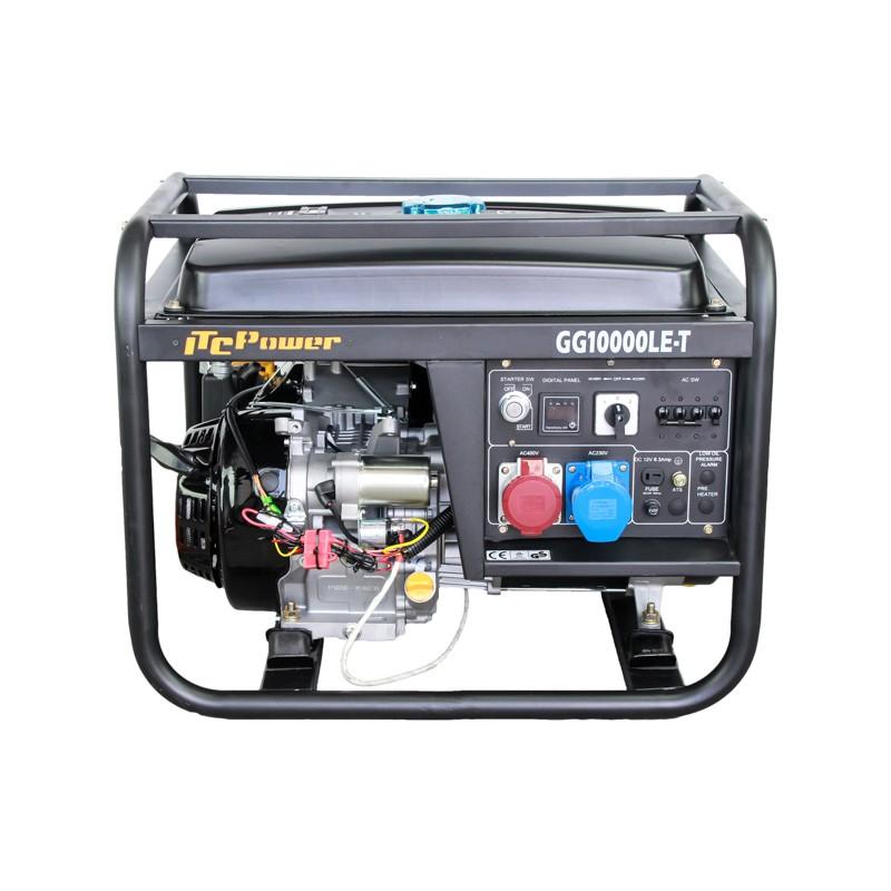 Groupe électrogène ITC Power GG10000LE-T