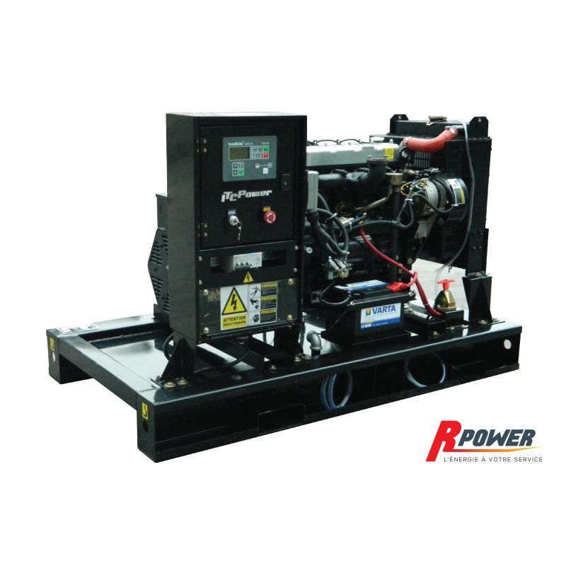 Groupe électrogène industriel ITC Power DG22KE 22KVA 400V