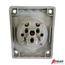 Socle monophasé 16A 2P+T IP44 ITC Power