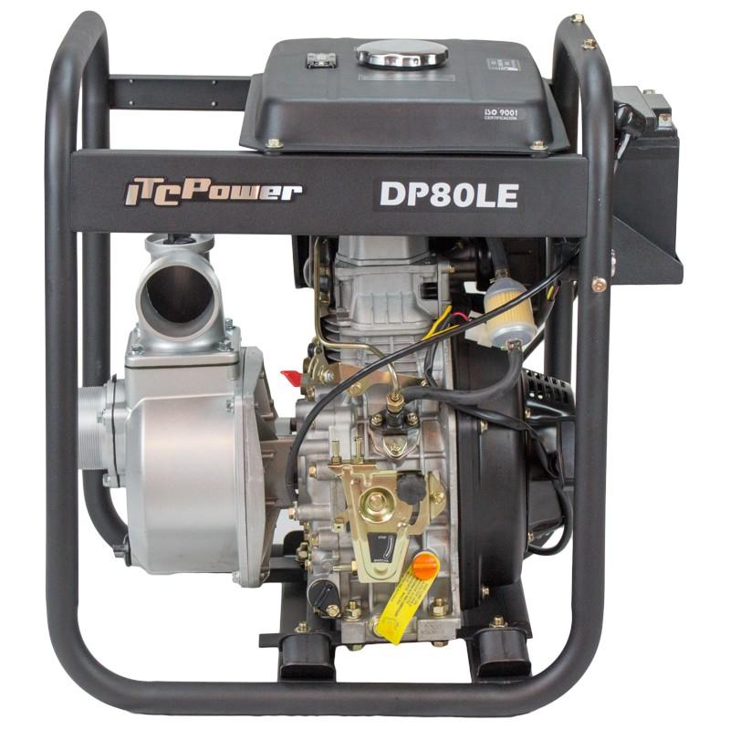 Motopompe ITC Power DP80LE Diesel